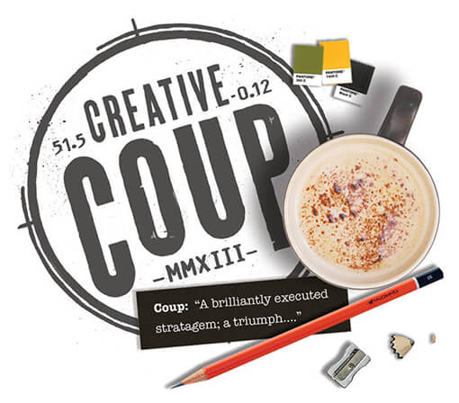 Creative Coup - The startup branding agency logo