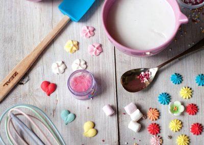 Creative Coup Startup branding package Bero Cookbook cake sprinkles