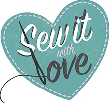 Creative Coup Branding Services Sew it with Love logo After